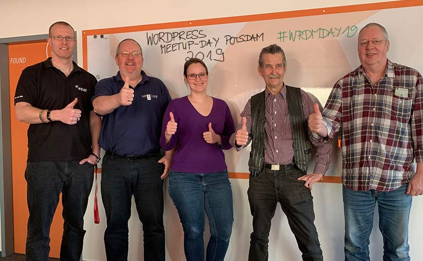 Kick-Off-Treffen zum WordPress Meetup-Day Potsdam 2019