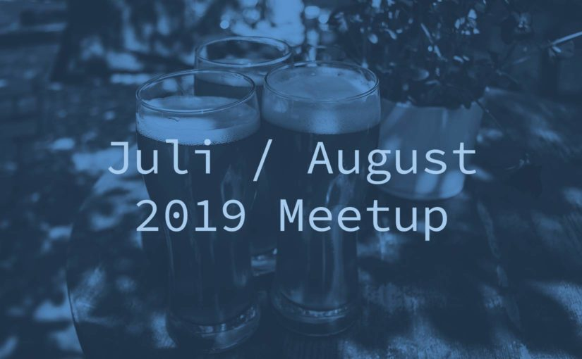 Juli/August-Ausgabe: WordPress Meetup am 16.07. und 20.8. in Potsdam