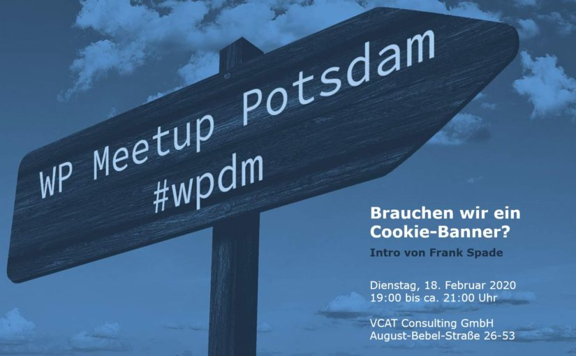 Februar-Ausgabe: WordPress Meetup am 18.02. in Potsdam